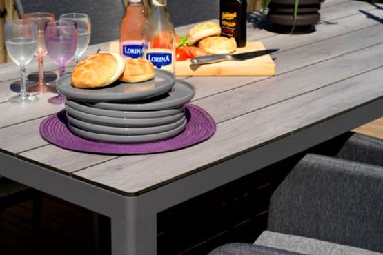 Lauko valgomojo stalas Rodez