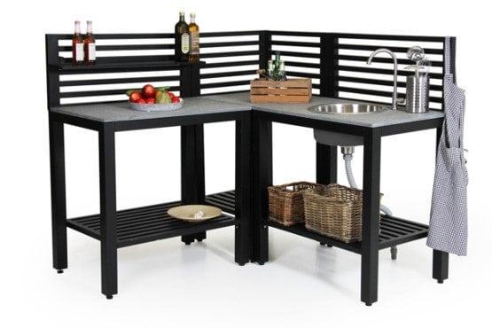 Lauko baldai virtuve Bellac Brafab bjarnumbaldai