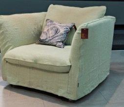 Minksti baldai fotelis Revival Furninova bjarnumbaldai