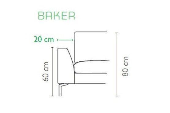 Baker porankis Blues Furninova bjarnumbaldai