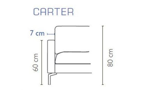 Carter porankis Blues Furninova bjarnumbaldai