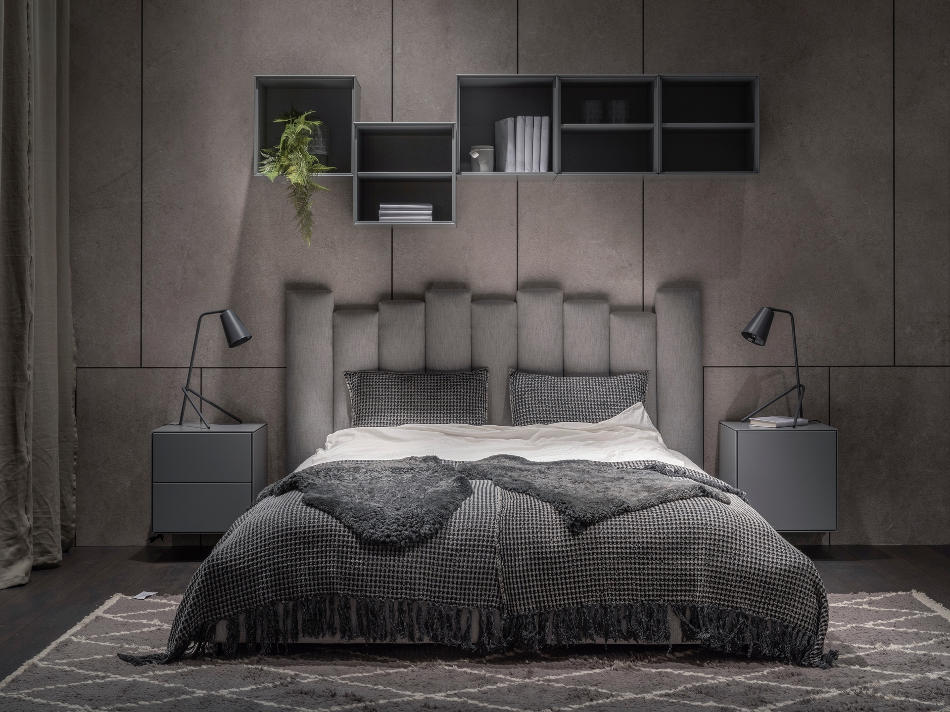 Miegamojo lova Tiramisu Furninova bjarnumbaldai