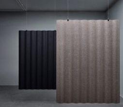 SCALA akustinis modulis, SCALA pastatoma akustinė pertvara Abstracta bjarnumbaldai