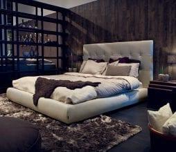 Miegamojo lova Blanc Furninova bjarnumbaldai