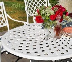 Lauko valgomojo stalas Arras Brafab bjarnumbaldai