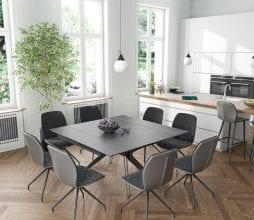Akante valgomojo stalas su praplėtimu Fascination_bjarnumbaldai